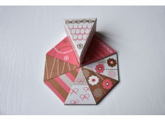 Piece of cake card (set of 39)