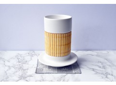 T-Bamboo porcelain cup