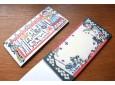 Katazome Puppet Theatre letter pad