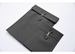 Recycled leather envelope A4
