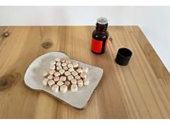 Hinoki aroma & bath cubes