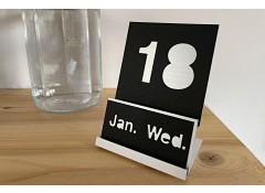 Perpetual calendar - Black