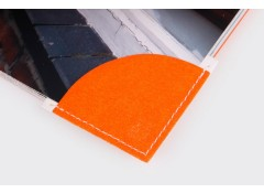 Corner bookmark - Orange