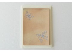 Butterfly mini writing paper set