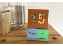 Perpetual calendar - Coloured