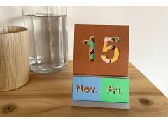 Perpetual calendar - Coloured