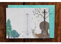 Bambi and the cello letter set