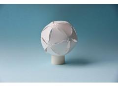 DIY origami LED candle light - white