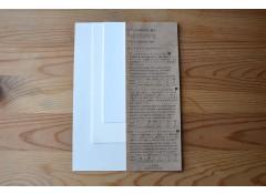 Paper tasting set: Egg shell