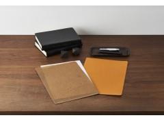 Wax paper files - Grey (3 pcs)