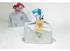 Eco gift bag & tag set - White (4)
