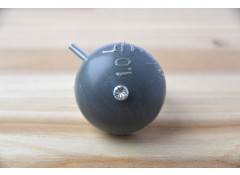 Upcycled bicycle bell - Dark grey