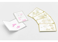 HANA flower message card set (5)