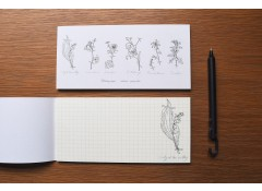 Botanical writing pad (H)