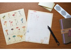Illustrated Mushooms letter set (10)