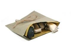 Eco gift bag & tag set - Natural (4)