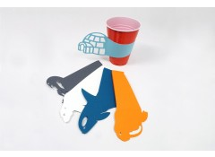 Party cup sleeves - Polar (5 pcs)