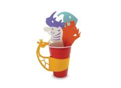 Party cup sleeves - Safari (5 pcs)