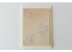 Swan mini note paper set (12)