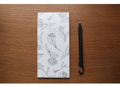 Botanical writing pad - V