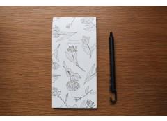 Botanical writing pad - V