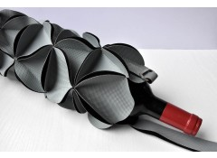 Blossom wine holder - Grey