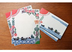 Katazome waterside letter set
