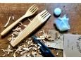 Japanese fork whittling DIY kit