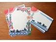 Katazome waterside letter set